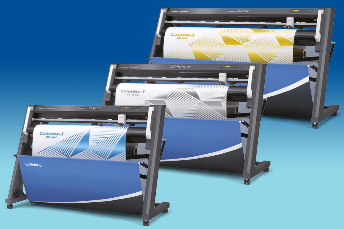 Режет быстрее, чище, точнее: новая серия режущих плоттеров Roland GR- встречайте!